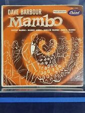"Dave Barbour Mambo Capitol Records EAP 1-545 7"" Vinyl G 180717"