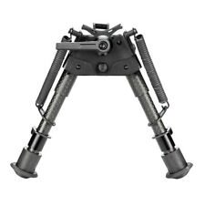 """Tactical Rifle Bipod Made of Carbon Fiber 6"""" to 9"""" Shooting Accessories"""