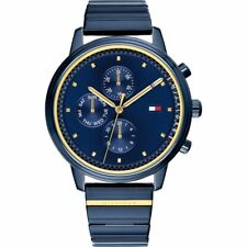 Tommy Hilfiger Watch Women's Blue Bracelet 38mm Gigi Hadid collection MSRP $125