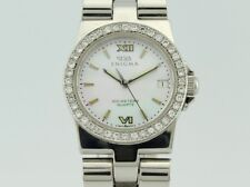 Enigma By Gianni Bulgari Carterpillar Diamonds Quartz Steel Lady 01.275