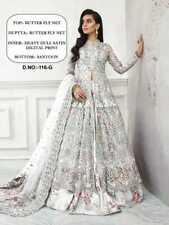 Pakistaní Salwar Kameez Trajes Lehnga Choli Indio Mujer Boda Partwear Étnica,