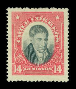 CHILE 1915  Manuel de Salas  14c salmon  - UNISSUED -  Scarce