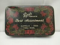 """Vintage Parry'S Sweets Confectionery Advertising Tin Litho Australia 1964 Circa"""""""