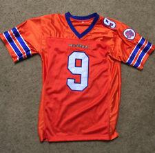 "Bobby Boucher #9 ""THE WATERBOY"" Football Jersey Orange Stitched Size M"