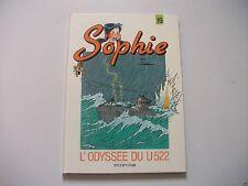 BD Sophie - N°19 - L'Odyssée Du U 522 - EO - Jidéhem