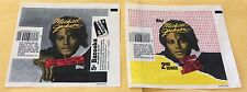 1984 Topps Michael Jackson Trading Cards 1st & 2nd Series Wax Pack Wrappers