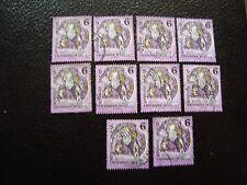 AUTRICHE - timbre yvert et tellier n° 1937 x10 obl (A01) stamp austria (U)