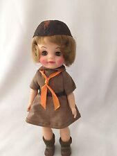 Effanbee Brownie Girl Scout Vintage Doll 1960's