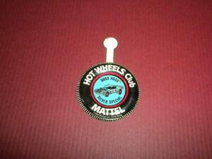 BOSS HOSS SILVER SPECIAL - Mattel Hot Wheels metal badge/pin/button/pinback 1969