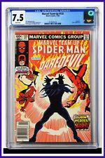 Marvel Team-Up #123 CGC Graded 7.5 Marvel 1982 Newsstand Edition Comic Book.