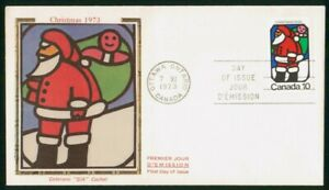 Mayfairstamps Canada FDC 1973 Santa Claus With Bag Presents First Day Cover wwo_