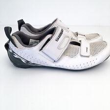Shimano SH-TR5 Mens Triathlon Shoes - Size 44 US10 White Road Bike Cycling TR500
