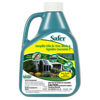 Safer 5163 Caterpillar Killer II with BT, Concentrate, 16 Oz