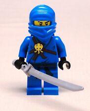 NEW Lego JAY NINJAGO Minifig w/ Sword BRAND NEW blue ninja 2263 2506 2259 2257