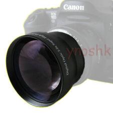 58mm 2.0x Tele Lens for Canon Rebel XS T1i T2i T3 T3i