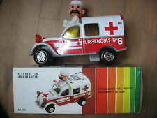 RARE 2CV CITROEN OBERTOYS AMBULANCE  1980