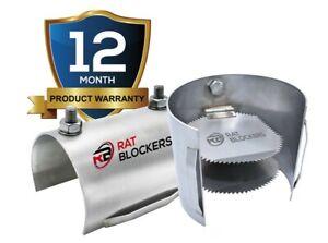 Rat Blocker for Drains (145mm) 6 inch Drains , Rat Prevention Non-Return Valve