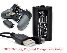 Paquete De Batería Recargable XBOX ONE ELITE + cable de plomo 2M de largo para Controlador Pad