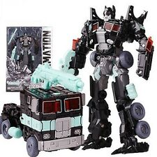 Transformers Black Changeable Optimus Prime Human Alliance Action Figures toy