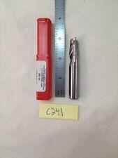 """1 NEW 1/2"""" DIAMETER CARBIDE END MILL. 2 FLUTE. USA MADE. 1"""" LOC  (C241)"""
