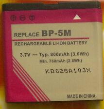 HN 7390 ls per Nokia bp-5m 7390 5700 5610 6110 6220 6500 8600 Li-ion 3,7v 800mah