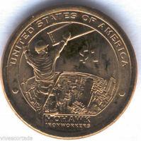 1 Dolar U.S.A. India Sacagawea  2015 P @ Hombre de Hierro @ Emision 7 @
