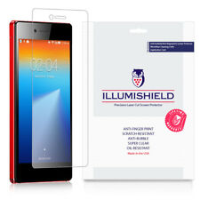 iLLumiShield Screen Protector w Anti-Bubble/Print 3x for Lenovo VIBE Shot