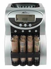 Royal Sovereign Electric Commercial 2 Row Digital Coin Counter Sorter
