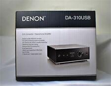 DENON Headphone Amplifier DA 10USB Premium Silver DSD High-res