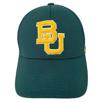 BU Baylor Bears Top of the World Hat Baseball Cap Green Gold Memory-Fit Sz. L XL