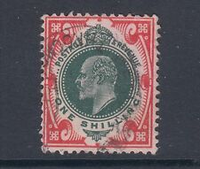 Great Britain Sc 138a used 1911 1sh Kgv, F-Vf