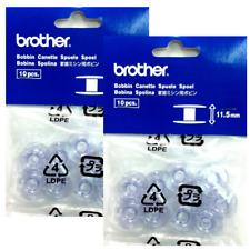 20 GENUINE BROTHER 11.5 SEWING MACHINE BOBBINS XA5539-15 / SA156 Genuine Part