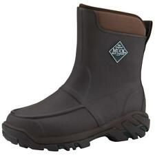 "Men's Muck Boots 10"" Uplander HG Waterproof Rubber Hunting Boots, Brown"