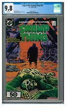 Saga of the Swamp Thing #36 (1985) Alan Moore Nuke Face CGC 9.8 White Pages T437