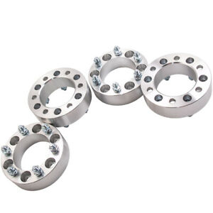 4 For Isuzu Rodeo 92-04 Trooper 92-03 6x139.7 M12x1.5 50mm Wheel Spacer Adapters