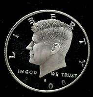 2008 S GEM PROOF KENNEDY HALF DOLLAR ULTRA CAMEO 90% SILVER - Free Shipping