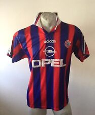 Maglia calcio adidas bayern munchen trikot fussbal opel jersey vintage 1995