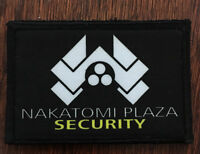 Die Hard Movie Nakatomi Plaza Morale Patch Tactical Military Army Flag Hook USA
