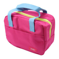 Portable Waterproof Thickness Insulated Lunch Bag Food Storage Handbags LI