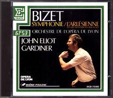 John Eliot GARDINER: BIZET Symphony in C L'Arlesienne ERATO CD 1988 Sinfonie