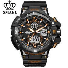 Montre SMAEL Sport Hommes Horloge Mâle LED Numérique Bracelet À Quartz Étanche