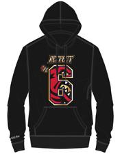 Men's Toronto Raptors Mitchell Ness Jurassic 6 Retro Logo Sweatshirt Hoodie