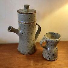 céramique grès GUSTAVE TIFFOCHE cafetière pot au lait faïence design 50-60-70-80