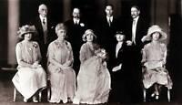 OLD PHOTO British Royalty The Christening Of Princess Elizabeth 1926