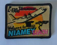 Last Patch C-130J NIAMEY beach deployment Barkhane Operation Transport Squadron