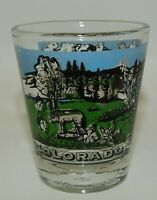 Vintage Colorado State Scenic Souvenir Shot Glass