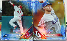 2016 Topps Opening Day Master Set - Includes 200-Card Blue Foil Set, All Inserts
