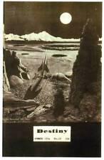 DESTINY OMNIBUS #3 - Sci-Fi fanzine (reprints #10 & 11: 1953) Chesley Bonestell