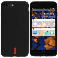 mumbi Hülle für iPhone 8 Plus / iPhone 7 Plus Schutzhülle GRIP Case schwarz