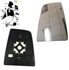 FORD TRANSIT Mk8 2014 > LH LEFT NEAR SIDE DOOR WING MIRROR UPPER GLASS 1823985